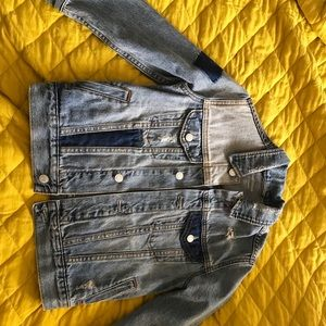 Patchwork Jean Jacket